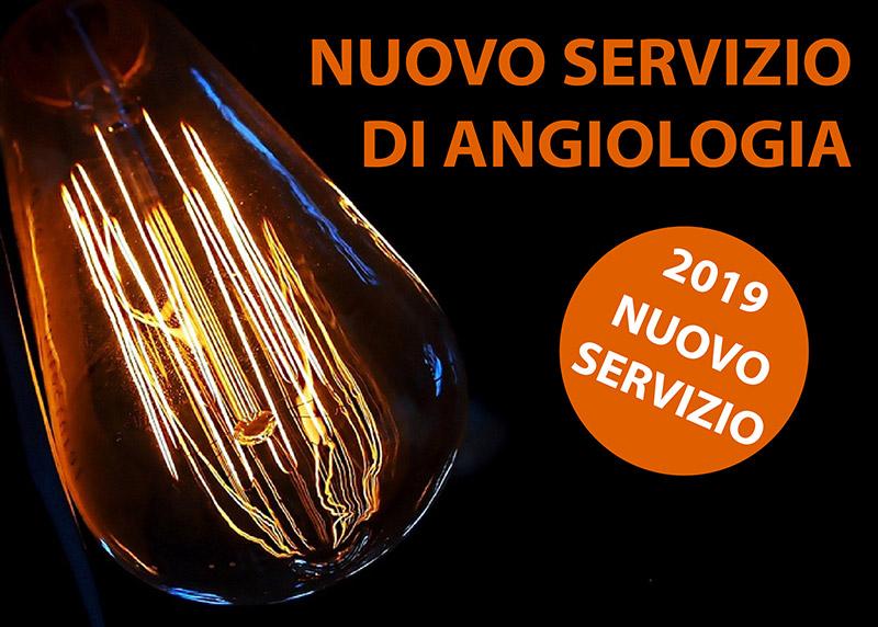 Nuovo Servizio di Angiologia 2019