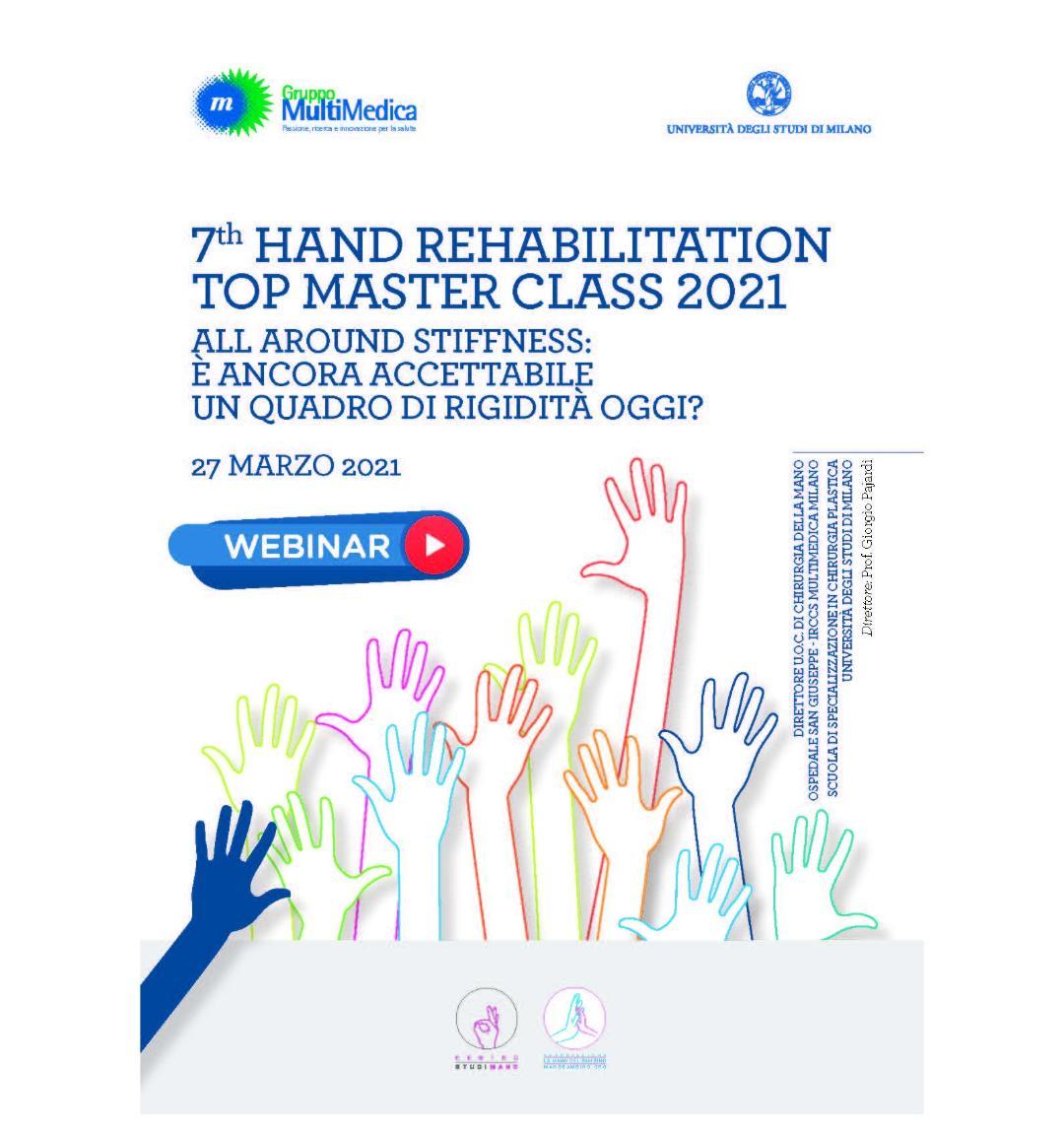 Webinar riabilitazione mano